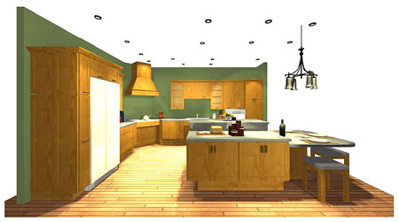 Designing a Kitchen in a Universal Design Home: A Team Approach