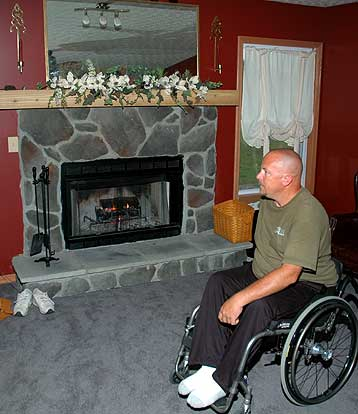 Accessible Great Room in a Home