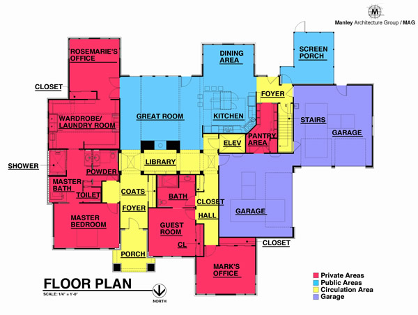Universal Design Living Laboratory Floorplan